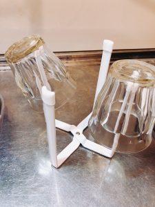 グラススタンドにも使えるポリ袋エコホルダー