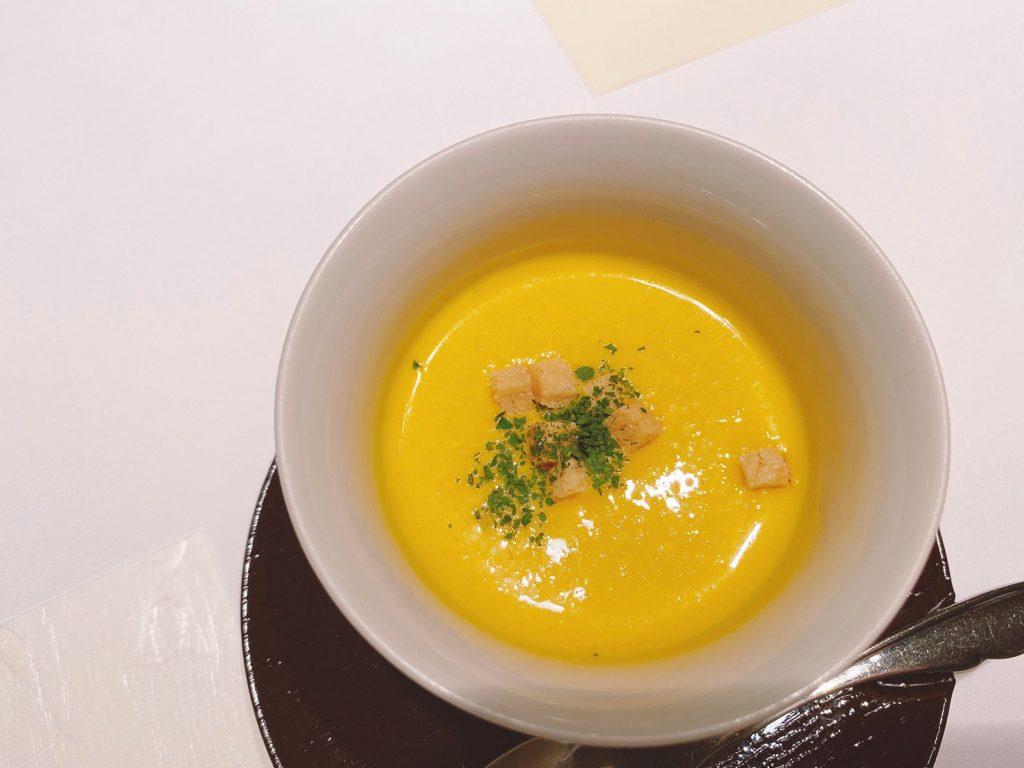 修善寺温泉宙SORA(冷製スープ)